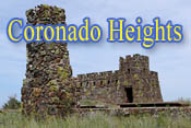 Coronado Heights Information, Lindsborg, KS