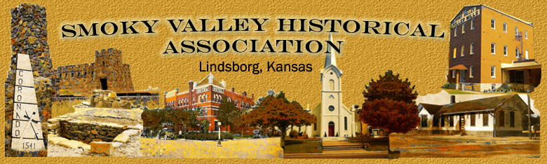 Smoky Valley Historical Association Lindsborg, KS 67456